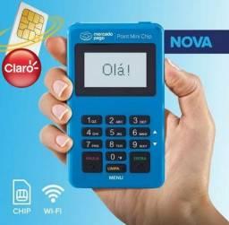 Maquininha mini chip e Wi-Fi