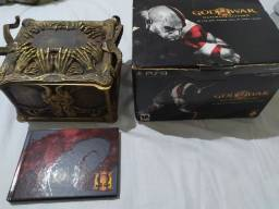 Título do anúncio: God of War Pandora's Box + Games + Joystick