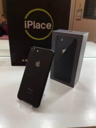 Título do anúncio: iPhone 8 64gb - Preto - Completo