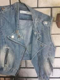 Título do anúncio: Jaqueta jeans curta