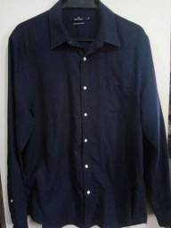Camisa Social Azul - elegância e conforto