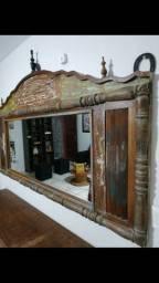 Móveis rústicos de madeira nobre