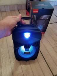 """Título do anúncio: """"Atacado e Varejo"""" Caixa de Som Kimiso Com Bluetooth - Produto Novo"""
