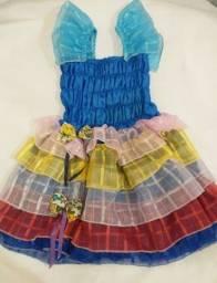Vestindo infantil festa junina