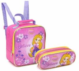 Kit Escolar Little Princess Rosa - Seanite