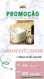aromatizador e óleo essencial