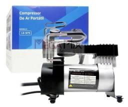 Título do anúncio: Compressor De Ar Veicular Profissional Portátil 12v Carro LE-975 IT-BLUE