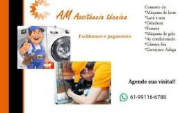 Título do anúncio: Conserto de geladeira e máquina de lavar