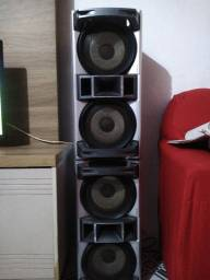 2 caixas de som Sony... RS .200