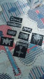 Título do anúncio: Patches Metal