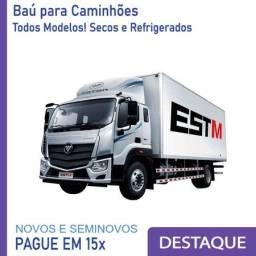 Título do anúncio: Baú Refrigerado e Baú Seco para Caminhão Modelo Anos 2010, 2..