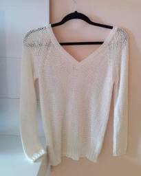 Casaco Zara tricô