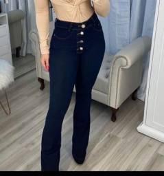 Calça jeans 40 azul marinho
