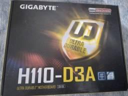 PLACA MÃE gigabyte 6e7 Geração NOVA