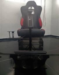 Título do anúncio: Cadeira Cockpit Gamer Winseats Virtual Racing - Mostruário