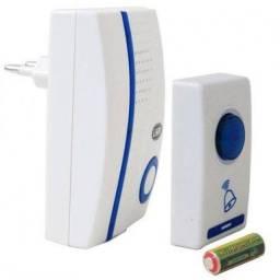 Campainha Sem Fio Wireless Longo Alcance 32 Toques Bivolt