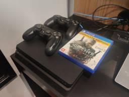 Título do anúncio: Playstation 4 Slim 500gb