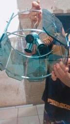 Vendo esse lustre top lindo vidros bem detalhados