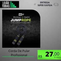 Título do anúncio: Corda De Pular Profissional Treino Crossfit Jumpe Rope