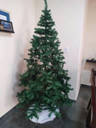 Árvore Pinheiro de Natal, apenas um uso, na caixa.