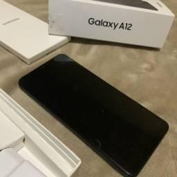 Título do anúncio: Samsung Galaxy A12 quase novo