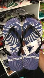 Sandálias masculinas da cavalera