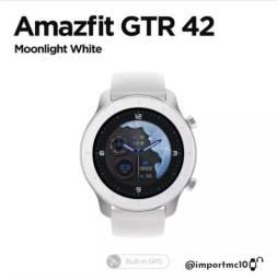 Smartwatch Xiaomi Amazfit Gtr 42mm - Branco / Vermelho