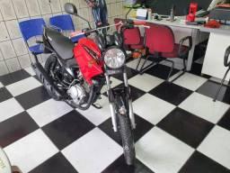 Yamaha Ybr Factor 125k vermelha 2016 único dono