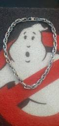 Título do anúncio: Colar masculino prata espesugrosso 53cm