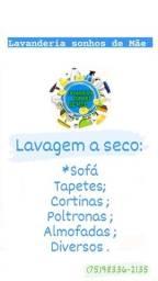 Título do anúncio: LAVAGEM DE ESTOFADOS A SECO