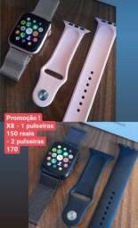 Título do anúncio: Smartwatch X8 + pulseiras