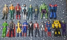 18 Bonecos de Super Herois - Apenas R$ 29,90 cada
