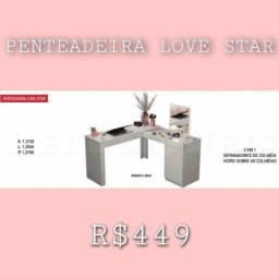 Título do anúncio: Penteadeira Penteadeira Penteadeira Love Star