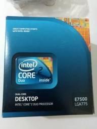 Processador Intel Core2duo E7500 Box - 2,93ghz
