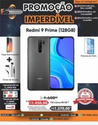 Promoção Celular Redmi 9 prime 128/4 gb