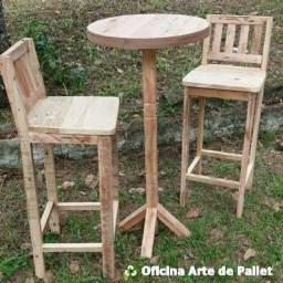 Vendo mesas e cadeiras dobravel