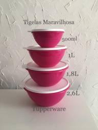 Kit 4 Tigelas Maravilhosa Tupperware