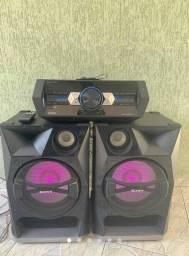 Título do anúncio: Sound system Sony shake 33