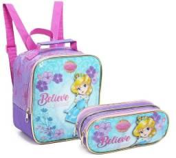 Kit Escolar Little Princes Azul - Seanite