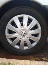 Troco rodas 15 de ferro com pneus bons.por outras .