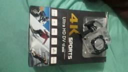 Vendo câmera 4k sports pouco usado