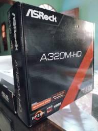 Placa Mãe (PC) AsRock A320M-HD