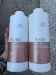 Título do anúncio: Kit Shampoo E Condicionador Fusion Wella Professionals 2x1000ml