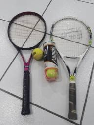 Raquetes de tênis,  ótimo estado.