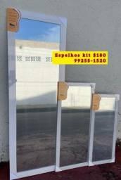Espelhos com entrega grátis kit $180 ( *))