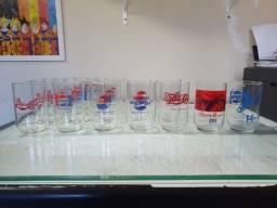 Copos Antigos Pepsi colecionador