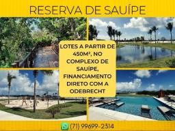 Reserva Sauípe, a partir de 450m² - Imperdivel