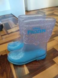Galochas infantis menina da Frozen