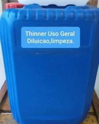 Thinner Uso Geral Limpeza diluição.