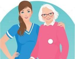 Título do anúncio: Cuidadora de idosos e babá